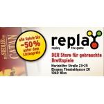 Replay: gebrauchte (Brett)spiele kaufen & verkaufen