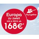Urlaubshamster Angebote: Fliegen zu zweit bei Airberlin (europaweit ab 168€ für 2 Tickets) + Thermengutscheine