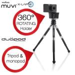 iBood des Tages: Veho Set mit Muvi X-lapse -360 ° Rotating Kamerahalterung und Duopod für 35,90 Euro inkl. Versand