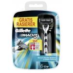 Gillette MACH3 Klingen 6 Stück plus Gratis MACH3 Rasierer um 9,99 € beim Cyber Monday