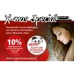 Domino-Haarkosmetik: 10% Weihnachtsrabatt auf Elektrogeräte & € 10,- geschenkt