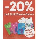 Interspar: -20 % auf alle iTunes Karten