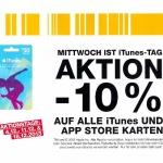 iTunes-Tage: – 10% auf iTunes und App-Store Karten in den Post Filialen