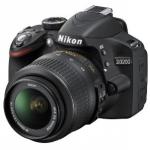 Nikon D3200 SLR-Digitalkamera inkl. AF-S DX 18-55 VR schwarz um € 319,- inkl. Versand beim Amazon Cyber Monday