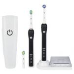 Braun Oral-B Professional Care 3000 Elektrische Zahnbürste (schwarz, inkl. 2. Handteil) um € 74,99 inkl. Versand bei Amazon.de