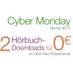 """Amazon: 2 kostenlose Hörbuch Downloads im """"Flexi Abo"""" Probemonat (bis 30.11.2013)"""