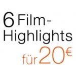 Amazon: 6 Filmhighlights um 20€