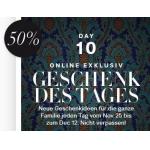 """50% Rabatt bei H&M mit der """"Geschenk des Tages"""" Aktion bis 12. Dezember 2013"""