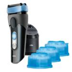 Braun CoolTec CT2cc kabelloser Wet & Dry Rasierer (mit 2 gratis Reinigungskartuschen) inkl. Versand um 97,99€