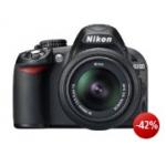 Nikon D3100 SLR-Digitalkamera Kit inkl. AF-S DX 18-55 VR Objektiv inkl. Versand um 279€