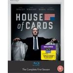 House of Cards Season 1 Blu-Ray inkl. Versand um ca. 14,30€