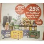 Interspar: -25% auf Bier und Biertender Geräte am 13. u. 14.12.2013