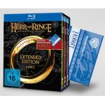 Herr der Ringe EE Trilogie [BD] + Kinokarte Smaugs Einöde für 39,95€
