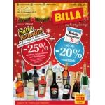 Billa: -25% auf Wein, Schaumwein und Spirituosen am 13. u. 14.12.2013 (f. Vorteilsclubmitglieder)