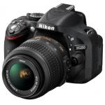 Nikon D5200 SLR-Digitalkamera Kit inkl. AF-S DX 18-55 mm VR Objektiv und Versand um 549€