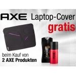 Axe Laptop Cover (Wert 5,99€) umsonst, beim Kauf von zumindest zwei AXE Produkten