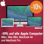 DiTech: nur heute -10% auf alle Apple Computer!