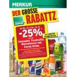 -25% auf Limo, Fruchtsäfte, Mineral und Energy Drinks (zB.: Red Bull 0,25 L um 0,89 €) für FoM am 13. u. 14.12.2013