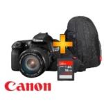 Saturn: Canon EOS 60D + 17-85mm IS USM + Gadget Bag + 16GB Speicherkarte