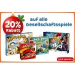 """Toys""""R""""Us: 20% Rabatt auf alle Gesellschaftsspiele und Play-Doh Knet-Artikel"""