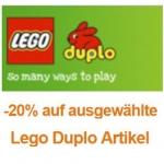 20% auf Lego Duplo Artikel bei Amazon