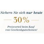Tom Tailor. 30% Rabatt auf Geschenkgutscheine