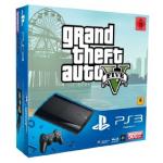 PlayStation 3 – Konsole Super Slim 500 GB (inkl. DualShock 3 Wireless Controller + GTA V) inkl. Versand um 199€