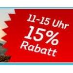 DailyDeal.at: -15 % auf alles von 11-15 Uhr (nur am 28.5.2014)