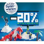 Metro: -20% auf alle Spielwaren (inkl. Werbeware!) am 20. & 21. Dezember 2013