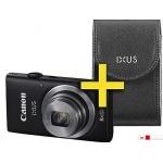mediamarkt.at: Canon IXUS 135 schwarz inkl. IXUS Ledertasche um 88 €