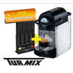 Saturn Adventkalender: TURMIX TX 160 Pixie Steel Nespressomaschine & Kapselhalter um € 115,99 inkl. Versand