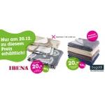 Nur am 20.12. bei mömax: Bugatti & Ibena Decken für 20€ (Versand gratis)