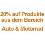 Amazon: 20% auf Produkte aus dem Bereich Auto & Motorrad