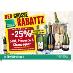 Merkur: -25% auf Sekt, Prosecco und Champagner für FoM am 27. u. 28.12.2013