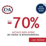 C&A: bis zu -70 % auf die Herbst- & Winterkollektion – versandkostenfrei (MBW: 9 €)