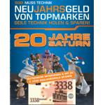 20 Jahre Saturn – Neujahrsgeld von Topmarken wie z.B.: Canon EOS 1100D um 249€
