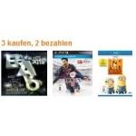 Kauf 3 Zahl 2 bei Amazon auf Spiele, Filmen, DVD´s und Musik
