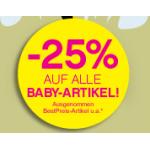 Baby Days bei BIPA – 25% auf alle Baby Produkte!