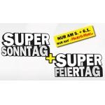 Media Markt Supersonn- und Feiertag am 5. und 6. Jänner 2014