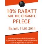 Douglas online: 10% Rabatt auf alle Pflegeprodukte