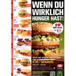 McDonalds Gutscheine für Österreich – ab 13.Jänner bis 16. Februar 2014 gültig