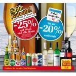 Billa: -25% auf Wein und alle Biere am 10. u. 11.1.2014 (f. Vorteilsclubmitglieder)
