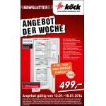 Elektro Köck: Siemens Kühl-Gefrierschrank  KG36EGW30 um 499 € statt 649 € (+ 50 Euro Bonus für Wien-Energie-Kunden)