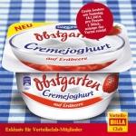Billa: GRATIS Danone Obstgarten Cremejoghurt 150g am 18.1.2014 (nur f. Vorteilsclubmitglieder)