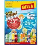 -25 % auf Mineral, Limo, Fruchtsäfte und Energydrinks bei BILLA am 17. u. 18.01.2014 (nur für Vorteilsclubmitglieder)