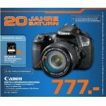 Saturn: Canon Eos 60D  Spiegelreflexkamera + 17-85mm IS USM um 777 € statt 903,99 € (nur offline)