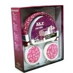 Amazon: XX.Y Top Sound Wildleder Stereo On-Ear-Kopfhörer pink um € 20,75