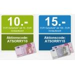 Weltbild: 10,- bis 15,- Euro Rabatt ab 70,- bis 100,- Euro Einkaufswert