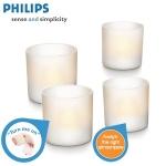 Philips Imageo 4er Set LED-Teelichter inkl. Versand um 25,90€ als iBOOD des Tages