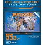 20 Jahre Saturn Prospekt Teil 2 – z.B.: Google Nexus 10 16GB um 229€ – gültig bis 04.02.2014